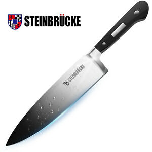 Professional 8 Inch Kitchen Chef Knife Straight German Stainless Steel Sharp Cut