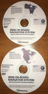 LATEST BMW Navigation DVD Map Update East West PROFESSIONAL SET iDrive CCC $21.99