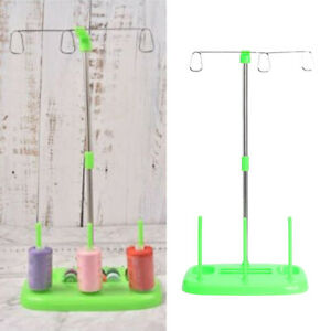 3 Thread Spool Holder Sewing Rack Stand Home Machine Parts Attachments Gear $8.63
