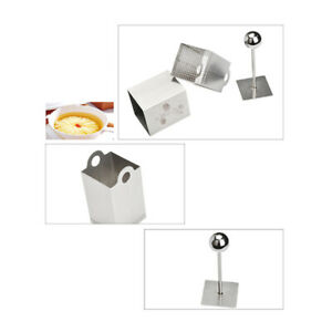 Silver Household Cheese Cloth Tofu Cutter Slicer Press Mold DIY Kitchen Tool Kit