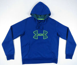 Under Armour Storm Cold Gear Semi Fitted Sweatshirt Hoodie Womens Pullover Large $39.99