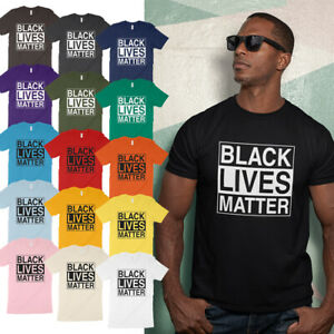 Black Lives Matter BLM I Can't Breathe Soft 4.2oz Cotton Unisex Tee T Shirt