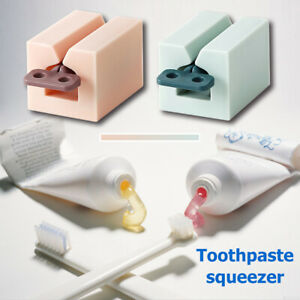 Portable Tooth Paste Tube Squeezer Easy Rolling Toothpaste Holder Dispenser