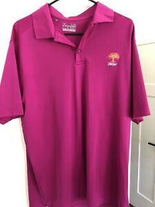 Under Armour Oak Tree National Mens Golf Polo Large $15.00