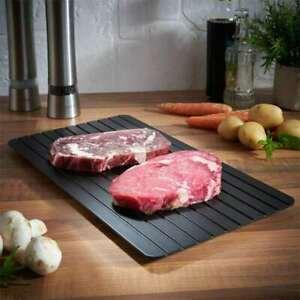 Fast Rapid Defrosting Meat Tray Thawing Chopping Board Frozen Food Defrost Plate