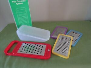 Vremi~ NIB The Greatest Grater~ w/Storage~ 4 Different Cheese Grates  New!