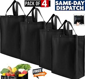 Brand New Ounce Reusable Shopping Grocery Bag Tote 4 Pack