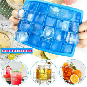 Super Big Giant Jumbo Large Size Silicone Ice Cube Mould Square Mold Tray Maker