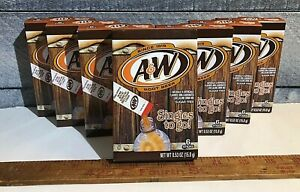 A&W Root Beer OLD STYLE BOX|ORIGINAL FLAVOR Drink Mix Singles to Go Lot of 6