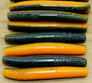 2.75quot; Finesse Stick Crawdad Ned Rig Type Floating Worm 50 pack Bulk Plastic