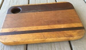 Vintage Wood Cutting Chopping Board Bread Cheese Tray Cocktail Charcuterie