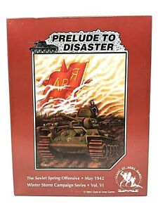 Clash of Arms Wargame PRELUDE TO DISASTER Winter Storm Campaign #6 UNPUNCHED