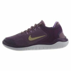 Nike Free RN 2018 GS Youth Girls Womens Running Shoes AH3457 500 Violet Gold $34.95