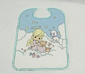 Precious Moments Bib Quilted Sewing Panel Baby Boy $4.99