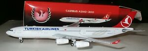 Phoenix 1:400 Turkish Airlines A340 300 #TC JDM 10977