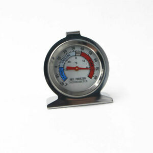 Stainless Steel Metal Temperature Refrigerator Freezer Dial Type Thermometer USA