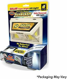 Official As Seen On TV Atomic Beam SunBlast by BulbHead Solar Powered LED Motion