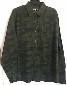NWT Unbreakable Brand Hunting 2XL Green Camouflage Long Sleeve Shirt XXL Casual