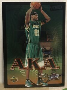2003 04 Upper Deck Victory LeBron James A.K.A. Rookie Card #206