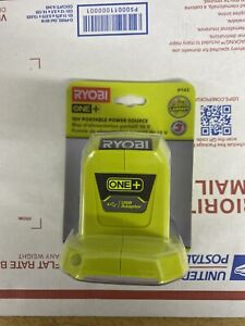 RYOBI P743 ONE+ 18V Portable Power Source 2.1A USB ADAPTER (TOOL ONLY