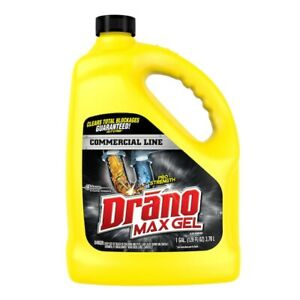 Drano Max Gel Drano Commercial Line 128 oz Drain Cleaner 🦾