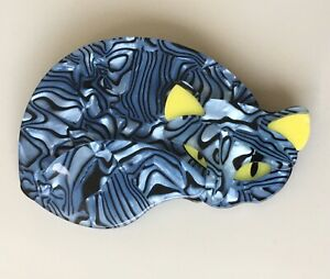 Unique Large Cat Pin Brooch In acrylic $18.00