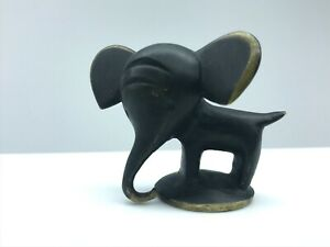 Bronze elephant, by Walter Bosse for Herter Baller.