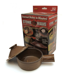Stone Wave Microwave Cooker As Seen On TV Telebrands