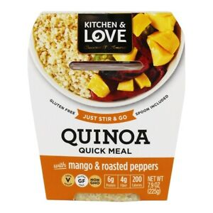 Kitchen amp; Love Gluten Free Quinoa Quick Meal Mango amp; Roasted Pepper