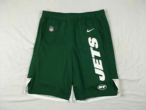 New York Jets Nike Shorts Mens Green Dri Fit Used Multiple Sizes $18.70