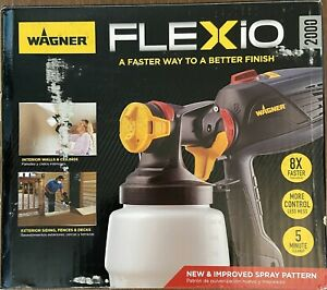 Wagner Flexio 2000 HVLP Paint Sprayer Used $54.39