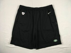 New York Jets Nike Shorts Mens Black Dri Fit Used Multiple Sizes $20.80