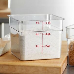 cambro food storage container with lid $21.00