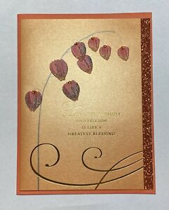 "Papyrus Thanksgiving Greeting Card Life's Greatest Blessing 4.5"" x 6"""