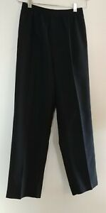 George Size 12 Black Elastic Waist School Holiday Dress Pants Girl Youth Clothes