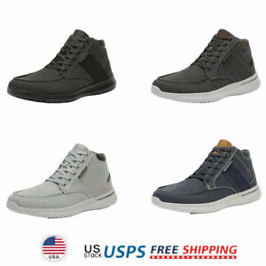 Mens Boys High Top Fashion Sneakers Canvas Fashion Casual Shoes Walking Shoes $17.99