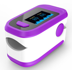 Finger clip pulse oximeter heart rate oximeter oxygen saturation monitor $12.66