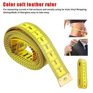 Body Measuring Tape Ruler Sewing Cloth Tailor Measure Flat inch cm 150 Soft H0A1