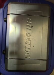 BRUNTON STAINLESS PROPANE STOVE 2 Burners Stainless Steel