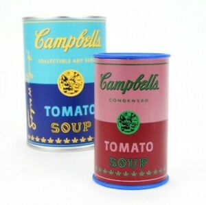 Kidrobot Andy Warhol Soup Can Series 1 Red Vinyl 3quot; Campbell#x27;s Tomato $15.99