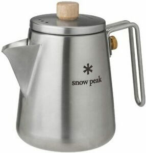 Snowpeak suno pi ku fi rudobarisuta Kettle Cookware Camping Supplies kukka