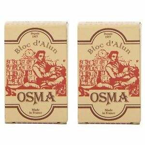 Osma Bloc Osma Alum Block 75g 2.65oz Pack of 2 $9.50