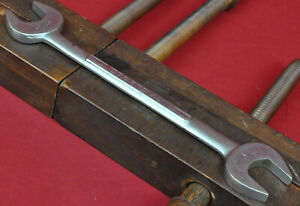 Vintage Craftsman USA 15 16quot; x 1quot; Double Open End Wrench =V= Series 44585 1960s