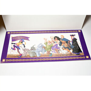 Disney Hunchback of Notre Dame Lithograph Lithograph $18.00