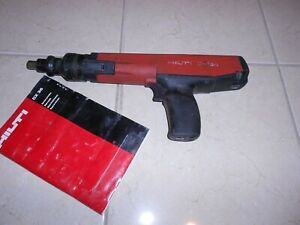 HILTI DX 36M POWDER ACTUATED NAIL GUN HILTI DX 460 DX 5 DX 351