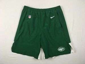 New York Jets Nike Shorts Mens Green Dri Fit Used Multiple Sizes $20.80