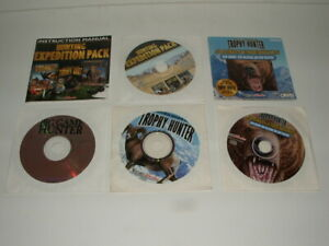 WIZARD WORKS PC HUNTING GAMES LOT EXPEDITION PACK BIG GAME TROPHY HUNTER ALASKAN