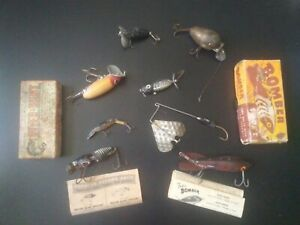* LOT OF VINTAGE FISHING LURES * SEE DESCRIPTION FOR INFO ABOUT LURES.