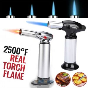 Cooking Torch Professional CHEF Torch Refillable Lighter for BBQBakingDesserts $14.87