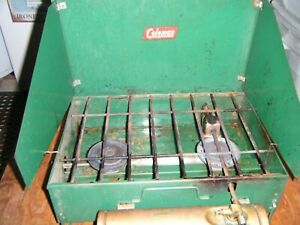 VINTAGE COLEMAN CAMPING STOVE 425 OLD STYLE FUEL TANK 200930001
